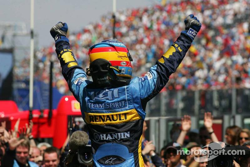 Домашня перемога Renault-Michelin-Алонсо у Маньї-Кур