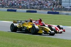 Tiago Monteiro and Rubens Barrichello