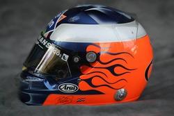 Photoshoot: helmet of Robert Doornbos