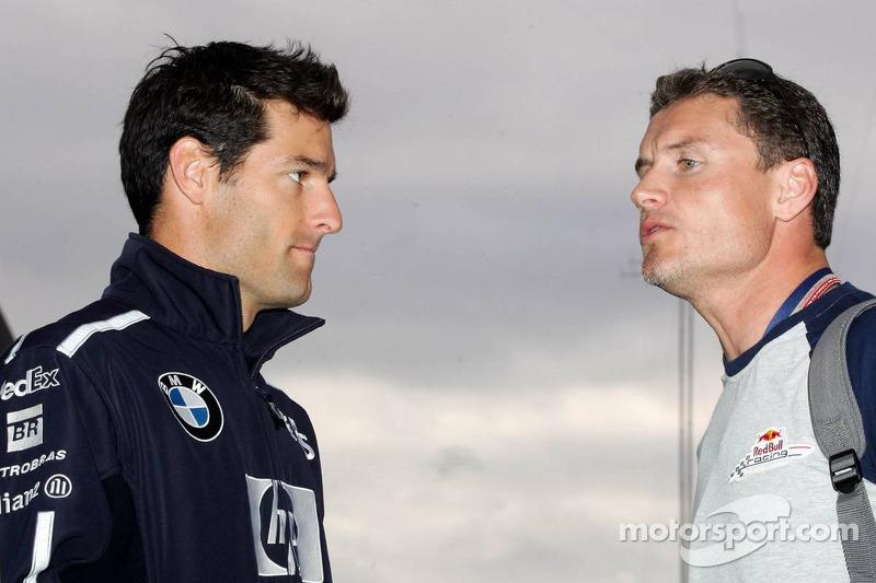 Mark Webber y David Coulthard
