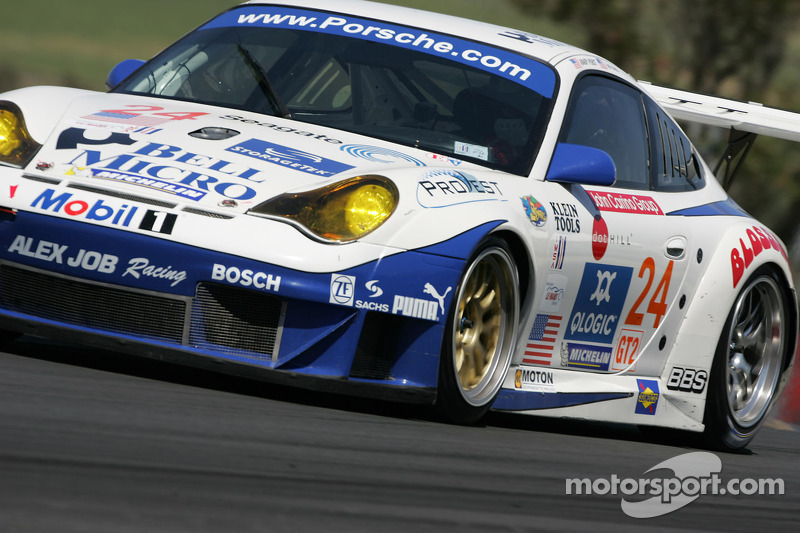 Alex Job Racing Porsche 911 GT3 RSR : Randy Pobst, Ian Baas