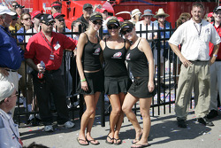 The lovely Milwaukee Mile hostesses