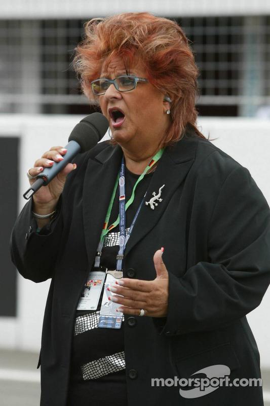 Singer Joy Flemming