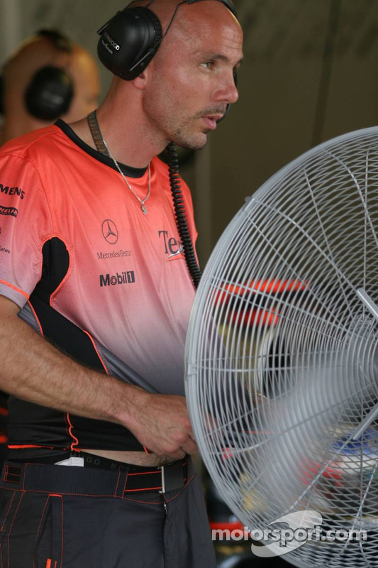 Miembro del equipo McLaren