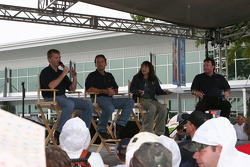 Jeff Burton, Dave Blaney and Richard Childress