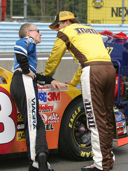 Mark Martin and Elliott Sadler