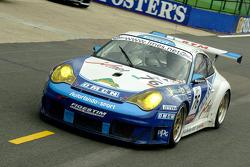 #76 Autorlando Sport Porsche 996 GT3 RSR: Franco Groppi, Luigi Moccia, Mike Rockenfeller
