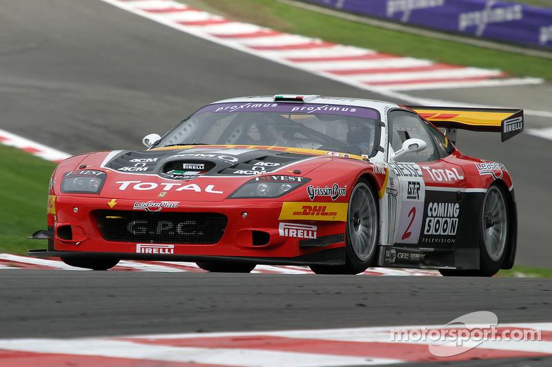G.P.C. Sport Ferrari 575 M Maranello : Jean-Denis Deletraz, Andréa Piccini, Jaime Melo, Gianni Morbidelli