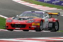 #2 G.P.C. Sport Ferrari 575 M Maranello: Jean-Denis Deletraz, Andrea Piccini, Jaime Melo, Gianni Morbidelli