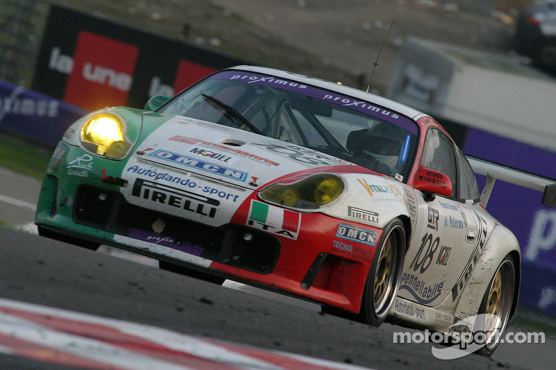 #108 Autorlando Sport Porsche 996 GT3-RS: Daniel Model, Gianpaolo Tenchini, Salvator Riolo, Dario Cerati