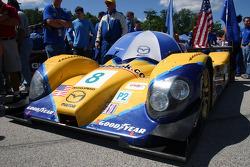 B-K Motorsports Courage Mazda