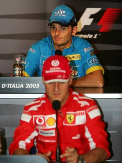 FIA Thursday press conference: Michael Schumacher and Giancarlo Fisichella