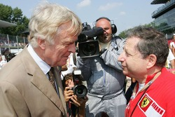 Max Mosley and Jean Todt