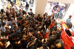 Ferrari store in Milan