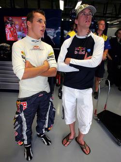 Christian Klien and Scott Speed