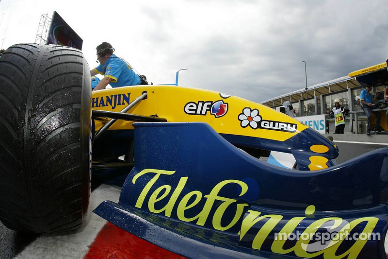 Giancarlo Fisichella regresa a los pits