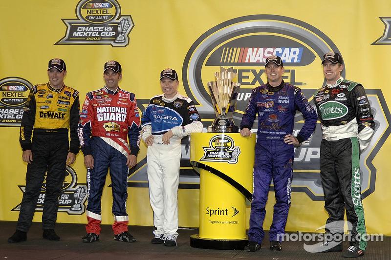 Chase 2005 im 5er-Pack von Roush Racing