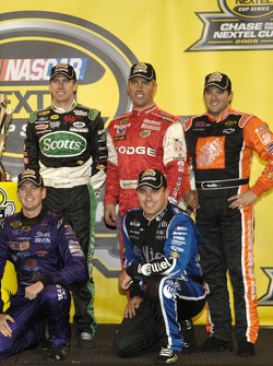 A few drivers who qualified for the 2005 Chase for the NASCAR NEXTEL Cup: Kurt Busch, Ryan Newman, Carl Edwards, Jeremy Mayfield and Tony Stewart