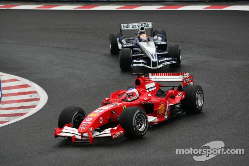 Rubens Barrichello y Antonio Pizzonia