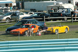 Spectators have great cars too