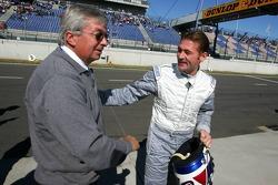 Jos Verstappen with Roland Bruynseraede