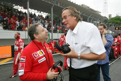 Jean Todt and Mansour Ojjeh