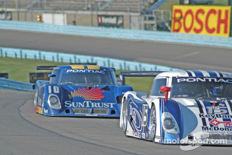 #15 CB Motorsports Pontiac Riley: Terry Borcheller, Hugo Guénette, #10 SunTrust Racing Pontiac Riley: Wayne Taylor, Max Angelelli