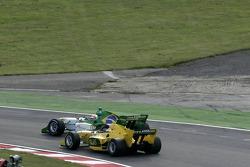 Nelson A. Piquet passeert Will Power