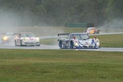 #67 Krohn Racing/ TRG Pontiac Riley: Tracy Krohn, Nic Jonsson, #38 TPC Racing Porsche GT3 Cup: John Littlechild, Spencer Pumpelly