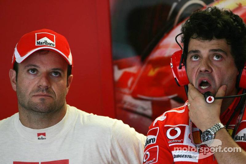 Rubens Barrichello y Gabriele delli Colli
