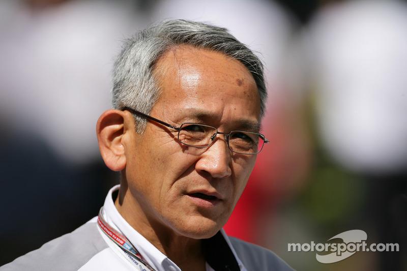 Director del equipo Toyota Tsutomu Tomita