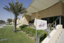 Coloni Motorsport hospitality area