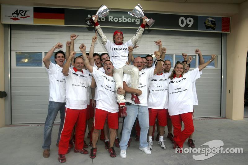 2005: Campeón de las GP2 Series