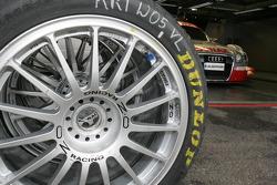 Audi Sport Team Abt pit area
