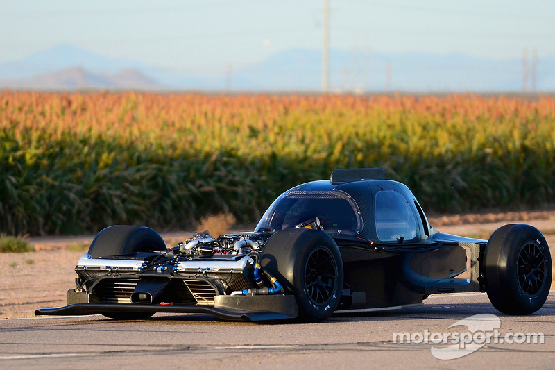 Der neue Nissan GT-R LM NISMO, erster Shakedown am Nissan Technical Centre in Arizona