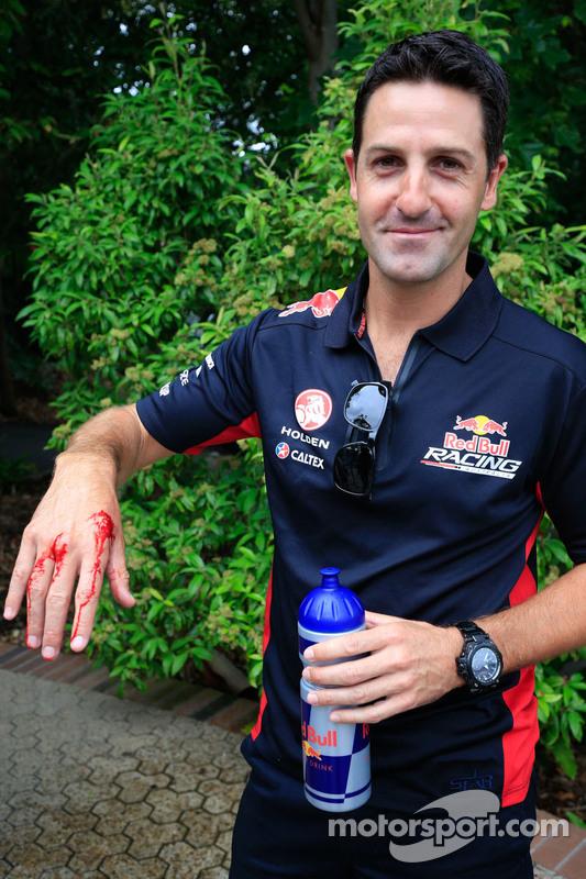 Jamie Whincup, Red Bull Holden com uma picada de cobra