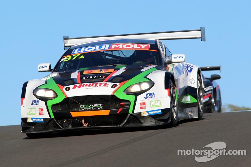 #97 Craft Bamboo Racing, Aston Martin Vantage GT3: Darryl O'Young, Alex MacDowall, Stefan Mücke