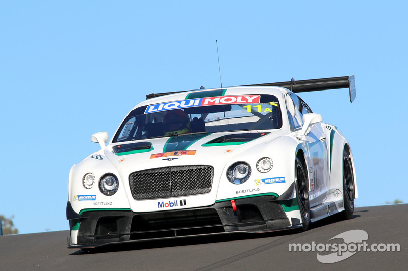#11 Bentley Team M-Sport, Bentley Continental GT3: Andy Soucek, Maximilian Buhk, Harold Primat