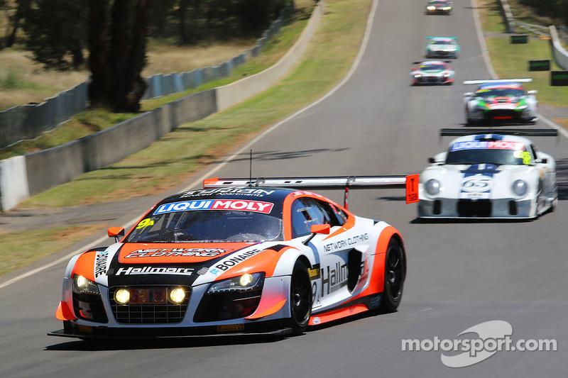 #9 奥迪R8 LMS ultra: Marc Cini, Mark Eddy, Christopher Mies