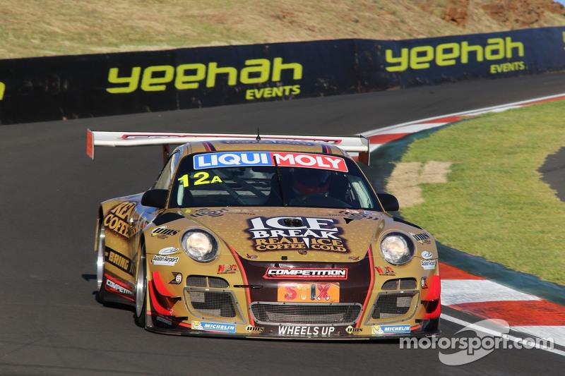 #12 Porsche GT3 R: David Calvert-Jones, Patrick Long, Chris Pither