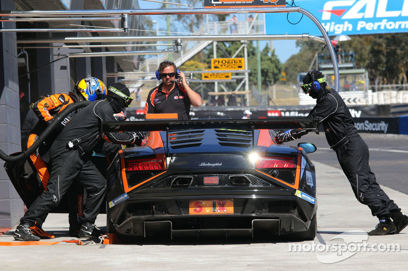 #48 M Motorsport Lamborghini Gallardo LP560-4: Steve Richards, Craig Baird, Justin McMillan
