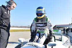 Себастьен Бурдэ. Февральские тесты на трассе NOLA Motorsports Park, день 1.