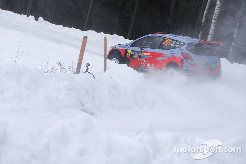 Kevin Abbring und Sebastian Marshall, Hyundai i20 WRC, Hyundai Motorsport