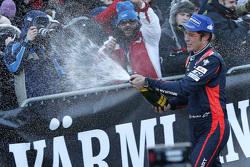Les deuxièmes Thierry Neuville et Nicolas Gilsoul, Hyundai i20 WRC, Hyundai Motorsport