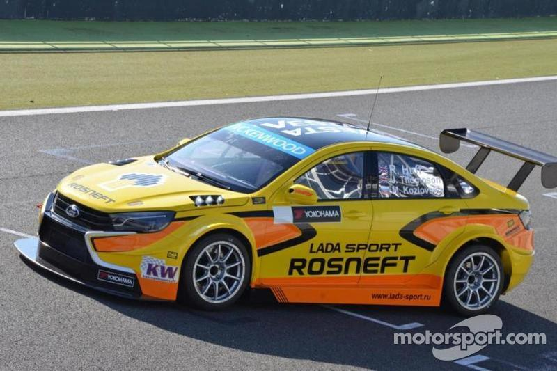 New Lada WTCC car completes first test