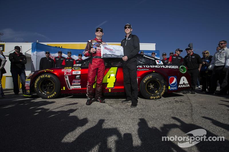 Pole-Sitter: Jeff Gordon, Hendrick Motorsports, Chevrolet, mit Crew-Chief Alan Gustafson