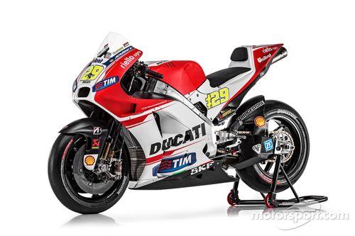Ducati Desmosedici GP15 launch