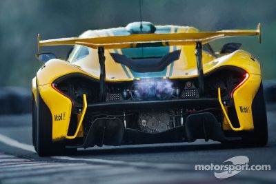 McLaren P1 GTR develación