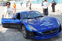 全电动的Rimac Automobili hyper汽车