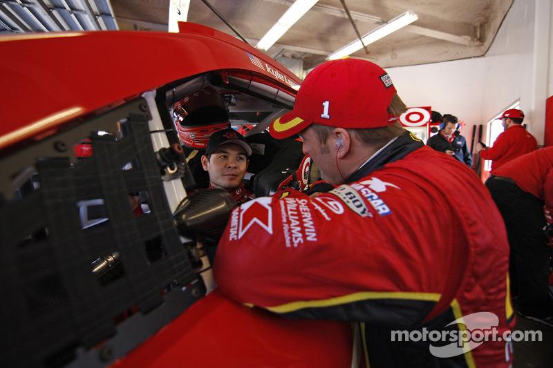 Kyle Larson, Ganassi Racing, Chevrolet, und Jamie McMurray, Ganassi Racing, Chevrolet